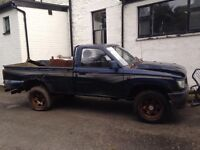 Toyota hilux pickups wanted Any age & condition 4x4 diesel
