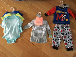 Brand new 3-6 month baby boy clothing