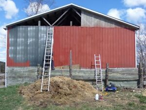 Barn Repair, Drainage, Demolition & Fence Line