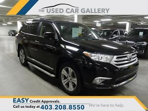 2013 Toyota Highlander 4WD V6 LTD 5A Everyone Approved