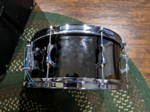 iNDE 14x6.5 Black Nickel Over Brass Snare