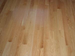 Plancher chêne select 3 1/4 fait au Canada - Préverni 10 couches