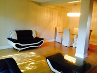 Semi-furnished 5 bedroom house available for short term rentral