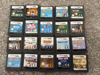DS games (cartridges only)