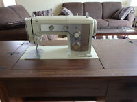 Antique Kenmore sewing machine table