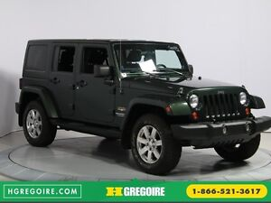 2012 Jeep Wrangler Sahara 4WD A/C GR ELECT 2TOITS MAGS
