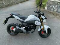 2017(17) Honda MSX125 Grom - Pearl White - Excellent Condition - 906 miles