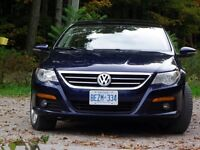 2009 VW  CC Sportline Turbo Sedan immaculate w/12 rims and tire