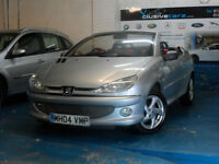 PEUGEOT 206 1.6 ( a/c ) 2004MY COUPE CABRIOLET ALLURE RED LEATHER INTERIOR