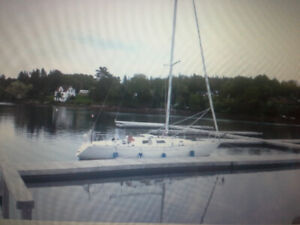 33 Foot Sailboat + trailer for Sale