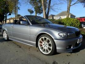 BMW 318 2.0 2004 MY SPORT CONVERTIBLE COMPLETE WITH M.O.T HPI CLEAR INC WARRANTY
