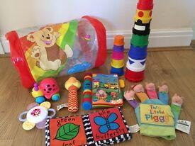 Vtec Nursery Rhymes Book & Baby Toy Bundle