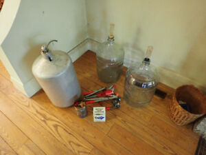 wine and beer making supplies