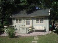 fantastic log cabin