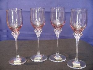 Mikasa Fine Crystal Liquor glasses set of 4