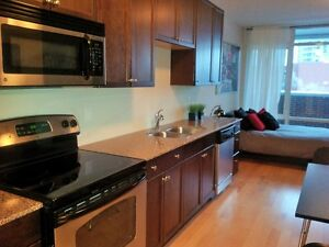 Fully furnished studio in UPTOWN WATERLOO!!! Availabe now
