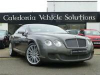 2008 08 BENTLEY CONTINENTAL 6.0 GT SPEED 2D 603 BHP