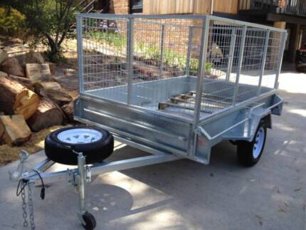 TRAILER HIRE 8X5 LARGE (SOUTH) MOVING OR RUBBISH?