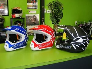 EVS - MX / ATV Helmets - Large & XL at RE-GEAR