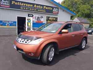 2003 Nissan murano v6 AWD good body  cert e-tested we finance