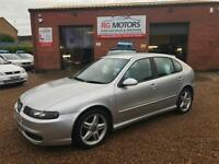 2004 Seat Leon Cupra 1.8 20v Turbo 180bhp Silver 5dr Hatch, **ANY PX WELCOME**