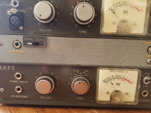 Tube preamps