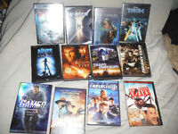 Mostly Science Ficton DVD's