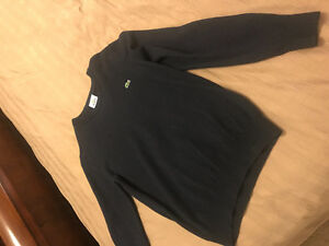 Lacoste and Hugo Boss sweaters