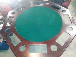 POKER TABLE for the MAN CAVE, GOOD CONDITION