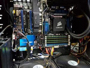 Ordinateur i7 EXTREM 4x3.4Ghz, 16GB,(SSD 240GB+SSD480GB)+GTX1060