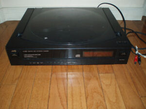 JVC 5 CD Rotary Top Loading Player Turntable XLR202