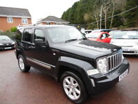 Jeep Cherokee 2.8 CRD Limited Auto (black) 2009