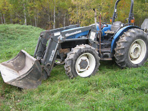 2001 New Holland TN65 - 65 hp with loader