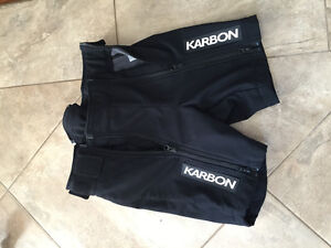 Junior race shorts size small