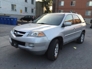 2004 Acura MDX Touring 7 passagers