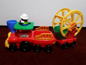 Fisher price Jungle and Safari train.