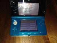 Nintendo 3DS in Teal.