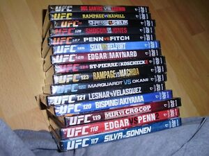 """15 UFC dvds ***BRAND NEW*** trade for 17"""" Rims and Tires London Ontario image 2"""