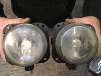 Jaguar xtype front fog lights valeo pair driver & passenger