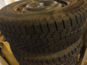 **Reduced** Continental Extreme Winter tires 215/70R16