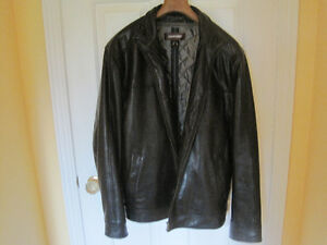 Danier Leather Men's Coat Cornwall Ontario image 1