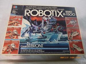 Robotix Series 1500 by Milton Bradley 1985