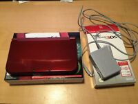 Red New 3DS XL Mint Condition with charger