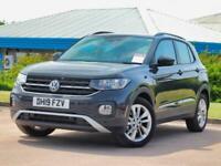2019 Volkswagen T-Cross Volkswagen T-Cross 1.0 TSI 115 SE 5dr 2WD SUV Petrol Man