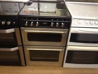 Silver gas cooker