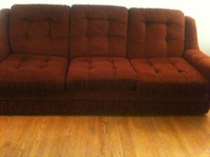 7' older couch, good shape, $70 OBO. needs gone by Aug. 21