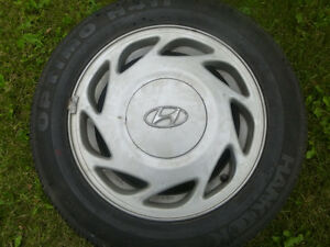 Factory Hyundai Alloy rims