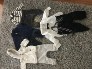 Baby boy 0-3 month little fall-winter outfits