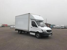 Mercedes-Benz Sprinter 313 LWB LONG LUTON EURO 5 DIESEL MANUAL WHITE (2015)