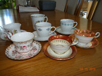 China assorted cup & saucer sets